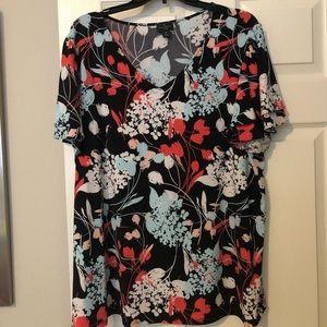 Multicolored top from Liz Claiborne size 1X